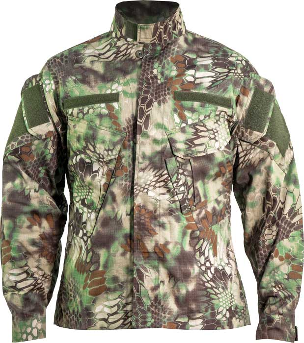 Куртка Skif Tac TAU Jacket. Размер – L. Цвет – Kryptek Green