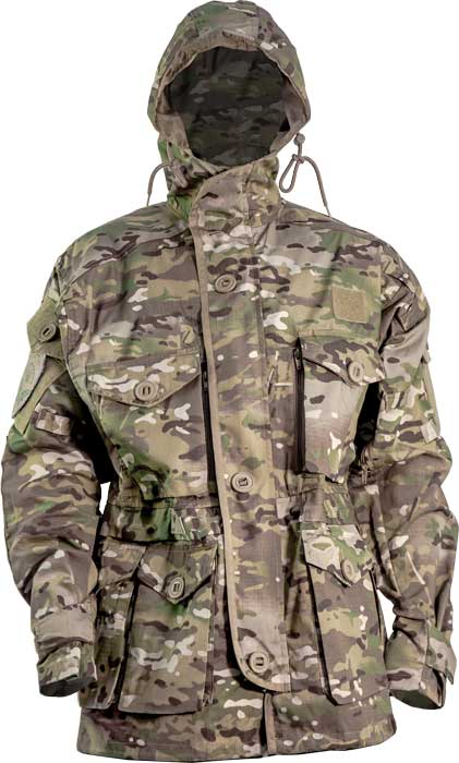 Куртка Skif Tac Smoke Parka w/o liner. Размер – XL. Цвет – Multicam