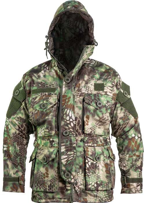 Куртка Skif Tac Smoke Parka w/o liner. Размер – L. Цвет – Kryptek Green