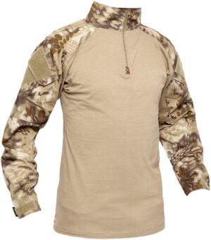 Рубашка Skif Tac AOR shirt w/o elbow. Kryptek Khaki