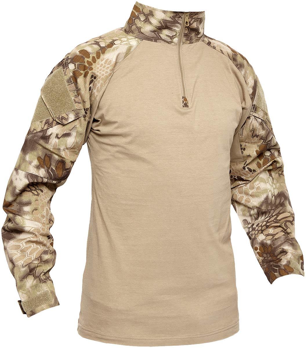 Рубашкa Skif Tac AOR shirt w/o elbow. Размер – M. Цвет – Kryptek Khaki