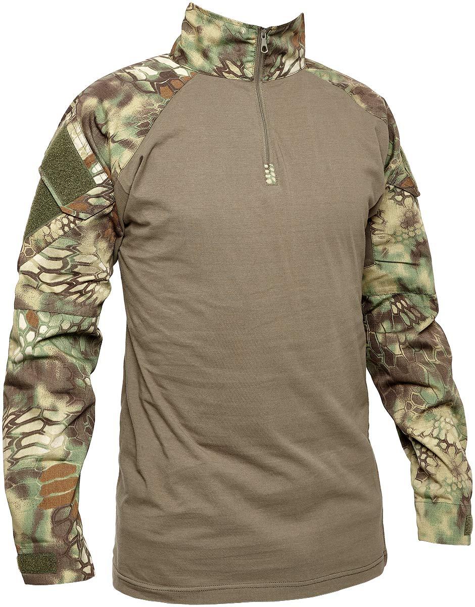 Рубашкa Skif Tac AOR shirt w/o elbow. Размер – S. Цвет – Kryptek Green