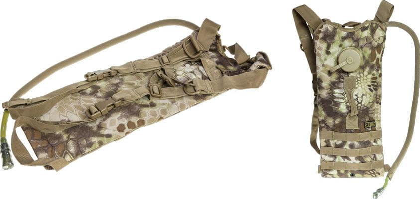 Гидратор Skif Tac с чехлом и крышкой 2,5 литра ц:kryptek khaki