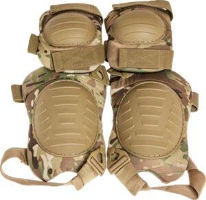 Комплект защитный Skif Tac наколенники и налокотники. Цвет – multicam