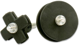 Набор вишеров Bore Tech для чистки AR-10. Безлатунный сплав/каучук. 8/32 M