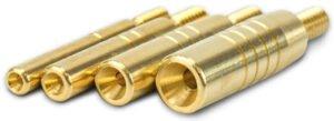 Набор вишеров Bore Tech Bullet Knock Outs для безопасного извлечения пуль из канала ствола кал .17-.50. Латунь. 8/32 M