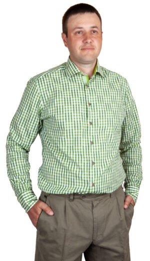 Рубашка Orbis Textil 43/44 ц:салатовый