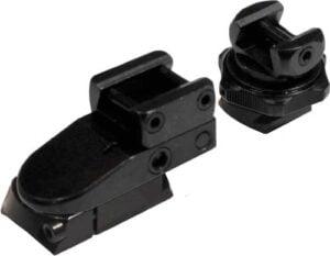 Быстросъемные поворотные крепления GFM для LM-Prism на Mauser M98/M12. BH 17 мм. KR 26 мм