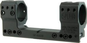 Моноблок Spuhr SP-4603B. d – 34 мм. High. 6 MIL/20.6 MOA. Picatinny