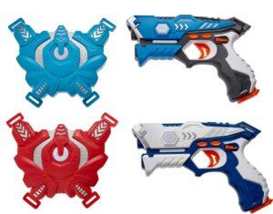 Набор лазерного оружия Canhui Toys Laser Guns CSTAR-23 (2 пистолета + 2 жилета)