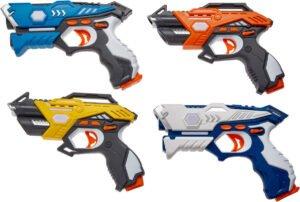 Набор лазерного оружия Canhui Toys Laser Guns CSTAR-33 (4 пистолета)