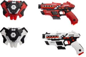 Набор лазерного оружия Canhui Toys Laser Guns CSTAG (2 пистолета + 2 жилета)