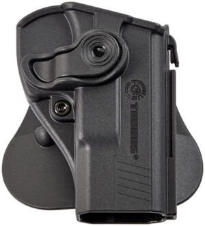 Кобура для Taurus PT24/7 PRO/PT800. Крепление на пояс. Материал – пластик. Цвет – черный