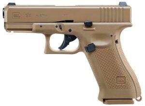 Пистолет пневм. Umarex Glock 19X 4,5 мм Blowback, ВВ