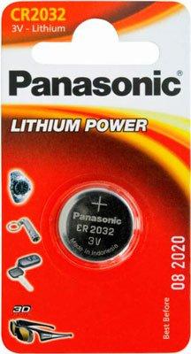 Батарея Panasonic CR 2032 BLI 1 LITHIUM
