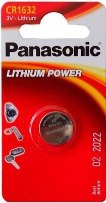Батарея Panasonic CR 1632 BLI 1 LITHIUM