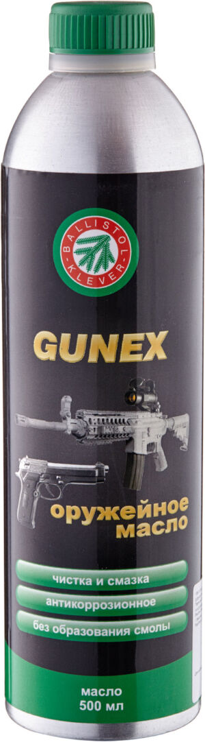 Масло оружейное Gunex 500 мл., спрей