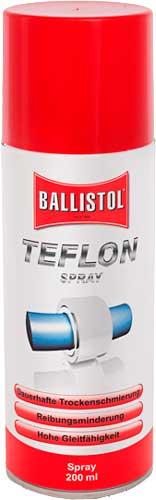 Смазка тефлоновая Ballistol TeflonSpray 200 мл, спрей
