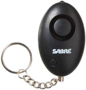 Персональная сигнализация Sabre 110 dB, с брелоком и фонарем