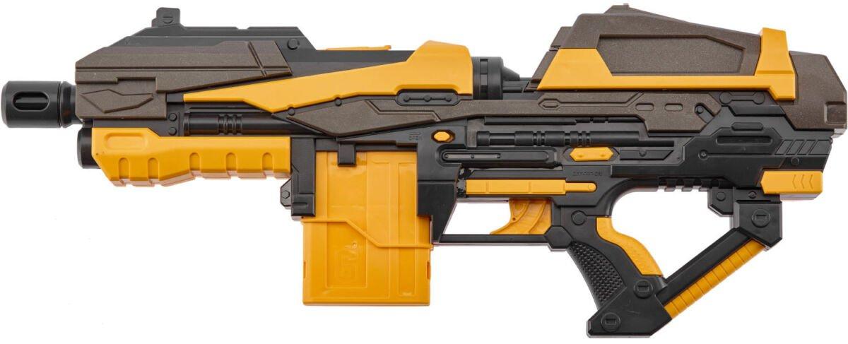 Бластер ZIPP Toys + 10 патронов ц:жёлтый