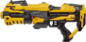 Бластер ZIPP Toys FJ1056 (14 патронов). Цвет: желтый