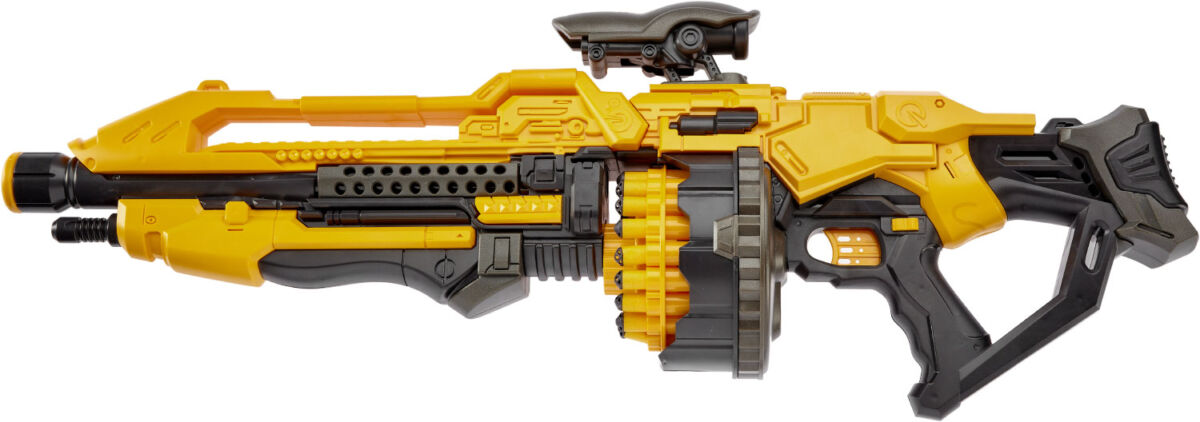 Бластер ZIPP Toys + 20 патронов ц:жёлтый