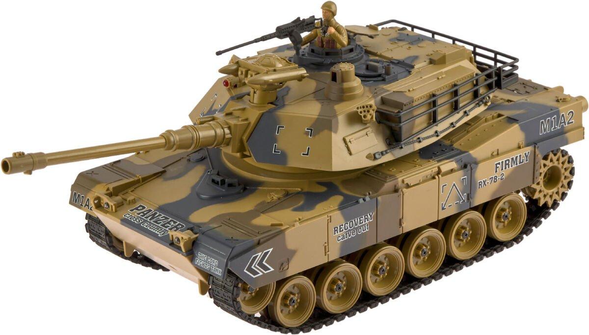 Танк ZIPP Toys USA M1A2 1:18