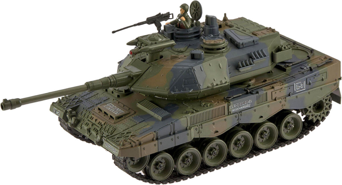 Танк ZIPP Toys GER LEOPARD 2A6 1:18