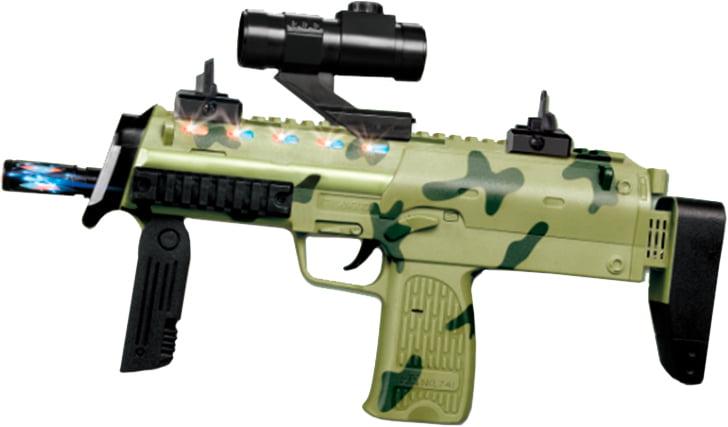 Автомат свето-звуковой ZIPP Toys Отважный медведь ц:камуфляж