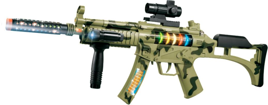 Автомат свето-звуковой ZIPP Toys Быстрый гепард ц:камуфляж
