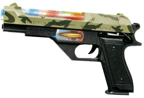 Пистолет свето-звуковой ZIPP Toys Пустынный орел ц:камуфляж