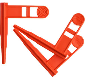 Флажок безопасности Ergo для карабинов. Оранжевый. 3 шт/уп