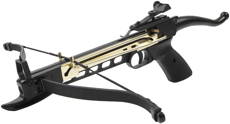 Арбалет Man Kung MK-80A4AL Рекурсивный, пист. типа, алюм. направляющая ц:black