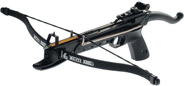 Арбалет Man Kung MK-80A4PL Рекурсивный, пист. типа, пласт. направляющая ц:black