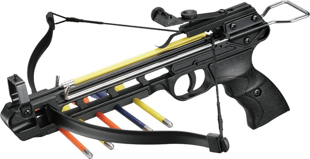 Арбалет Man Kung MK-50A2 Рекурсивный, пист. типа, алюм. направляющая ц:black