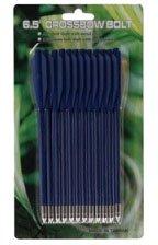 Стрелы для пист.арбалета Man Kung MK-PL-BL, пластик,12 шт/уп, ц:синий