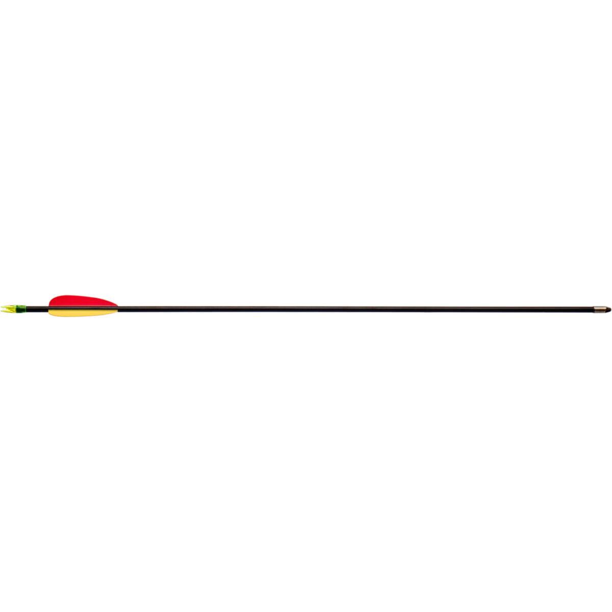 Стрела для лука Man Kung MK-FA26 ,фиберглас ц:черный