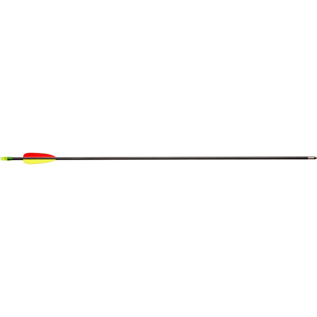 Стрела для лука Man Kung MK-FA28 ,фиберглас ц:черный