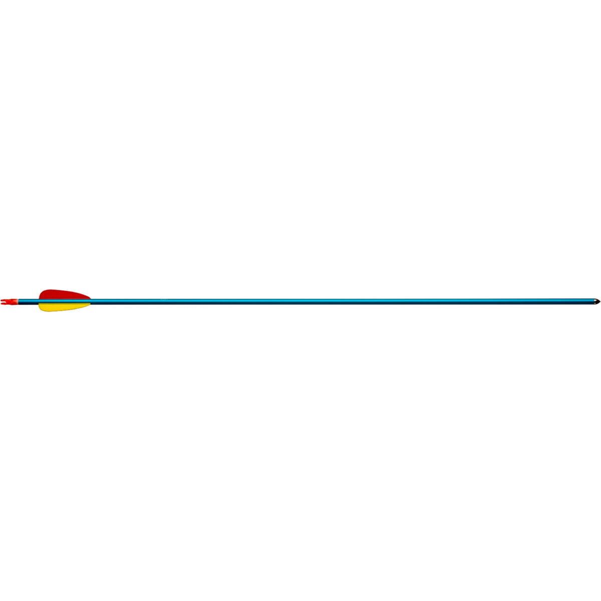 Стрела для лука Man Kung MK-AAL29 , алюминий ц:голубой