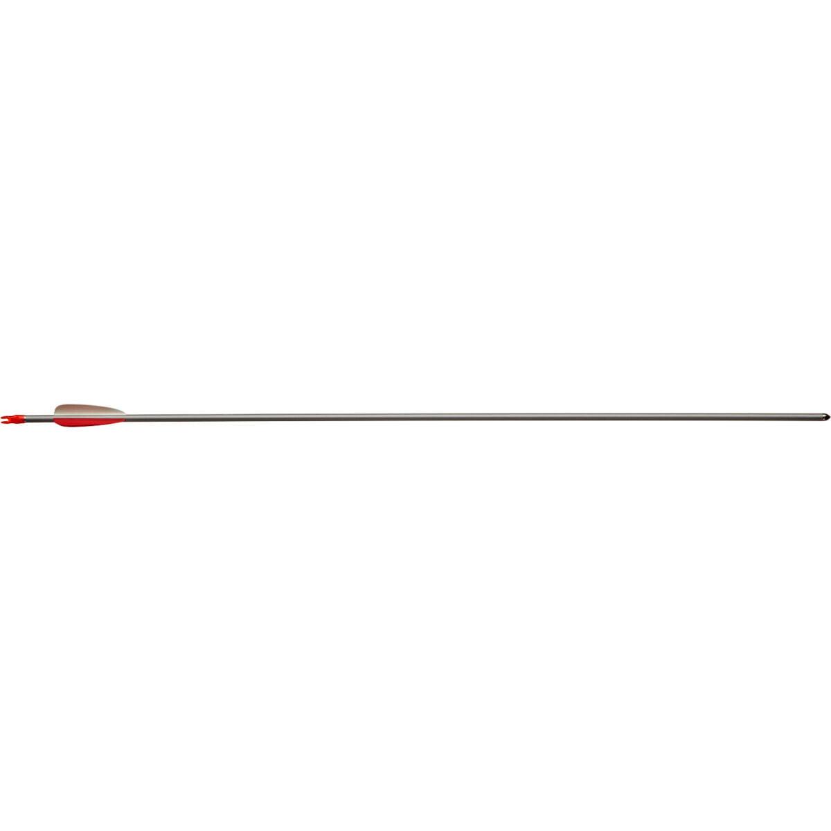 Стрела для лука Man Kung MK-AAL29-1716 , алюминий ц:серебро