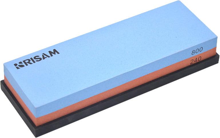 Точильный камень Risam RW003, зерн.240/800 (водный)