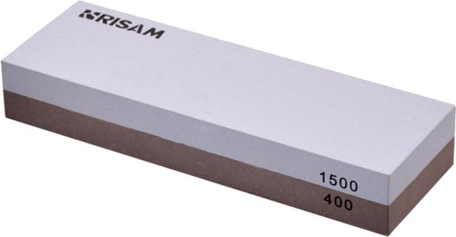 Точильный камень Risam RW214, зерн.400/1500 (водный)