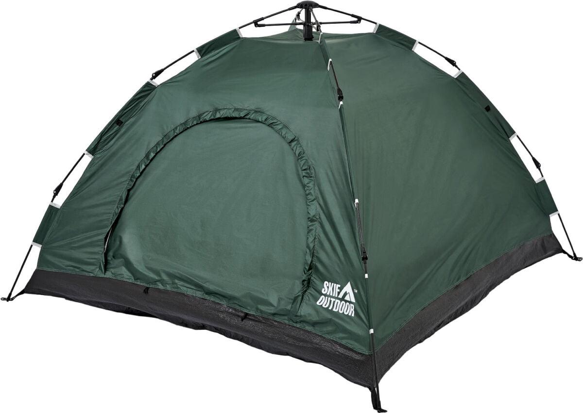 Палатка Skif Outdoor Adventure Auto I, 200×200 cm (3-х местная), ц:green