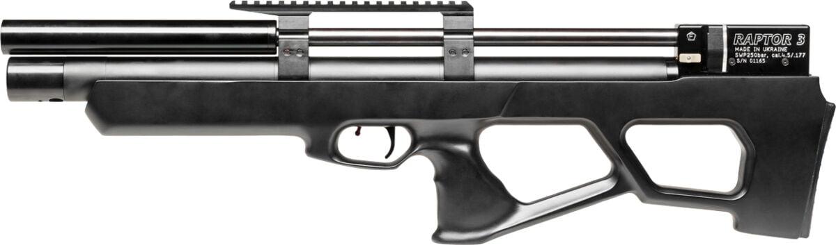 Винтовка пневм. Raptor 3 Standard HP 4,5 мм ц:черный