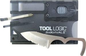 Нож SOG Survival Card I, сталь – 420J2, длина клинка – 51 мм, фонарь