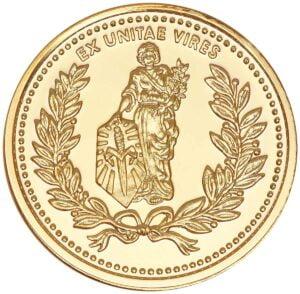 Монета Microtech Gold Coin