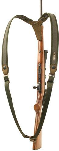 Ремень Riserva Doppia двойной оружейный зеленый