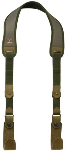 Ремень Riserva оружейный навесной с крючками зеленый