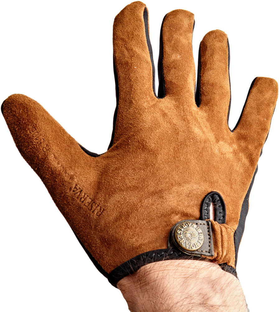 Перчатки Riserva R5106 кожаные. Цвет – коричневый. Размер – М.