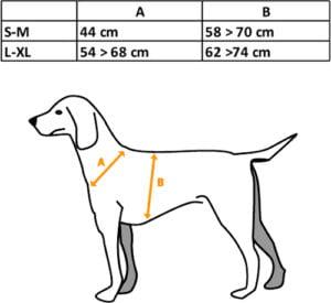 Жилет для собак Riserva R2185 S/M